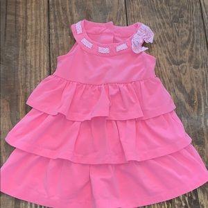 Janie & Jack | Pink Tired Sleeveless Dress